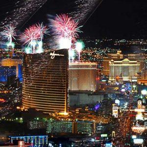 Celebración del 4 de julio en Las Vegas